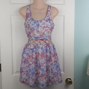 Aeropostale Mixed Print Dress Sz. XS